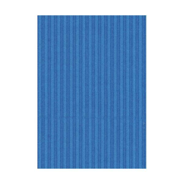 (まとめ) ヒサゴ リップルボード 薄口 A4ブルー RBU08A4 1パック(3枚) 【×30セット】