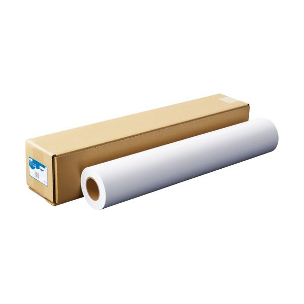(まとめ)TANOSEEスタンダード・フォト光沢紙(紙ベース) A1ロール 594mm×30m 1本【×3セット】