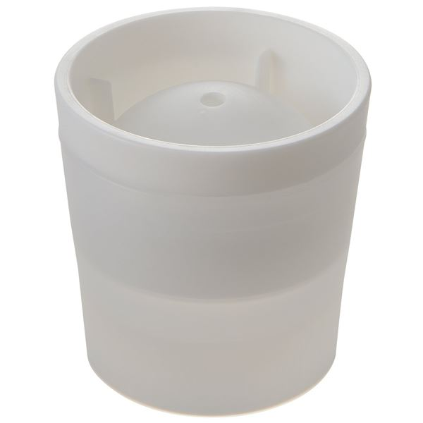 (まとめ)製氷皿 丸 氷 俺の丸氷 ホワイト ( 製氷器 丸 ) 【40個セット】