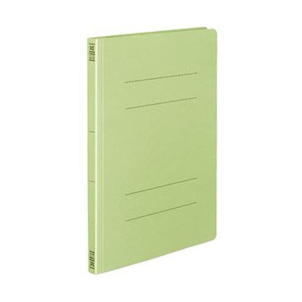 フラットファイル(間伐材使用)A4タテ フ-VK10G 緑 150枚収容 1セット(10冊)【×10セット】 背幅18mm (まとめ)コクヨ