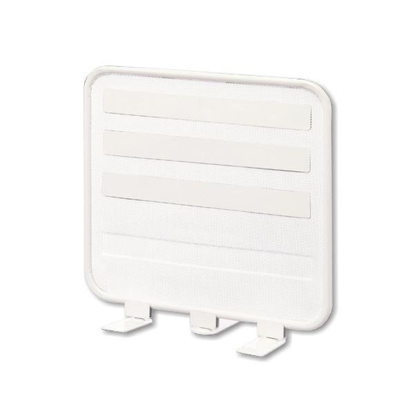 (まとめ) リヒトラブ ライト・デスクトップパネル 机上台 W390用 白 A-7380-0 1台 【×5セット】