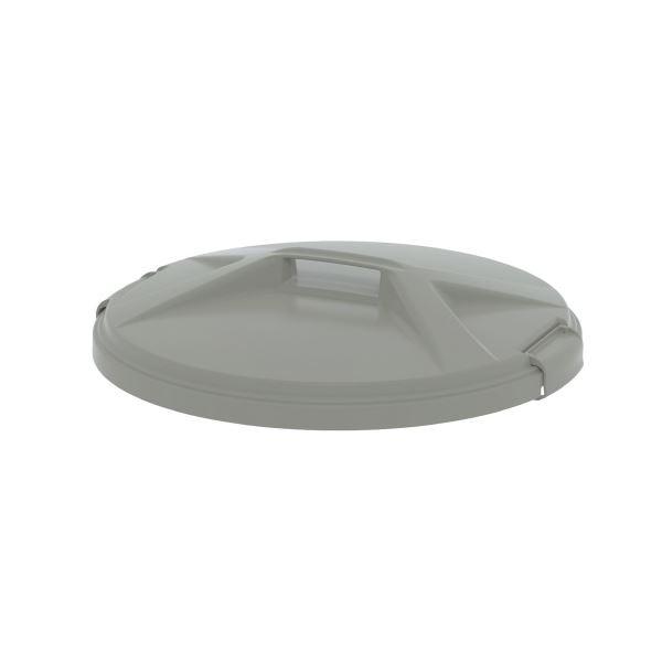 (まとめ)E-CON エコン ダストボックス 丸型 70・90L フタ(本体別売り)(×10セット)