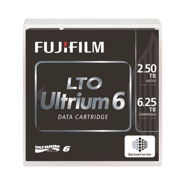【スーパーSALE限定価格】富士フイルム LTO Ultrium6データカートリッジ バーコードラベル(縦型)付 2.5TB LTO FB UL-6 OREDPX5T1箱(5巻)
