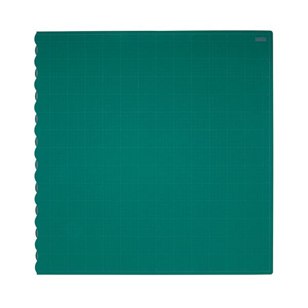 (まとめ)TANOSEE二つ折りデスクサイズカッターマット 690×1340mm 1枚【×3セット】
