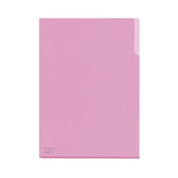 (まとめ) コクヨ クリヤーホルダー10(テン)A4 桃 フ-T750-8 1セット(5枚) 【×30セット】
