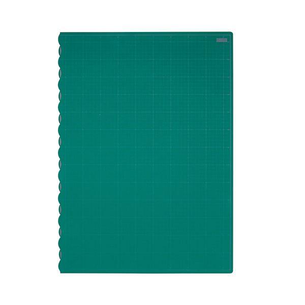 (まとめ)TANOSEE二つ折りデスクサイズカッターマット 690×990mm 1枚【×3セット】