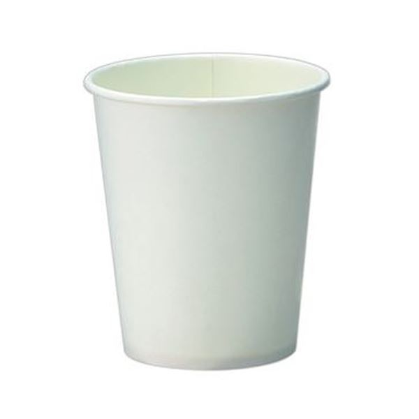 (まとめ)TANOSEE 紙コップ ホワイト150ml(5オンス)1セット(400個:80個×5パック)【×10セット】