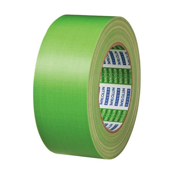 (まとめ) 日東電工 ニトクロステープ 50mm×25m 緑 7500-50 1巻 【×30セット】