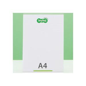 (まとめ) TANOSEE 再生PETサインスタンド 片面用 A4タテ 1個 【×30セット】