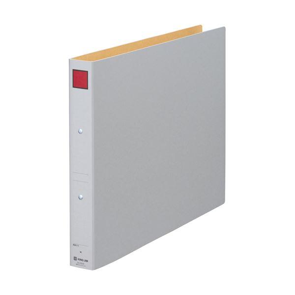 (まとめ) キングジム 保存ファイル A3ヨコ300枚収容 30mmとじ 背幅45mm ピクト赤 5303E 1冊 【×30セット】