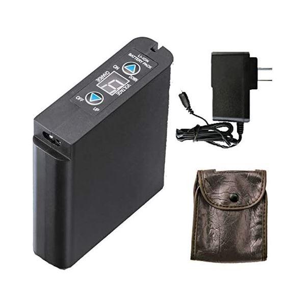 空調服 LIPRO2 リチウムイオンバッテリーセット(バッテリー、充電器、バッテリーケース)