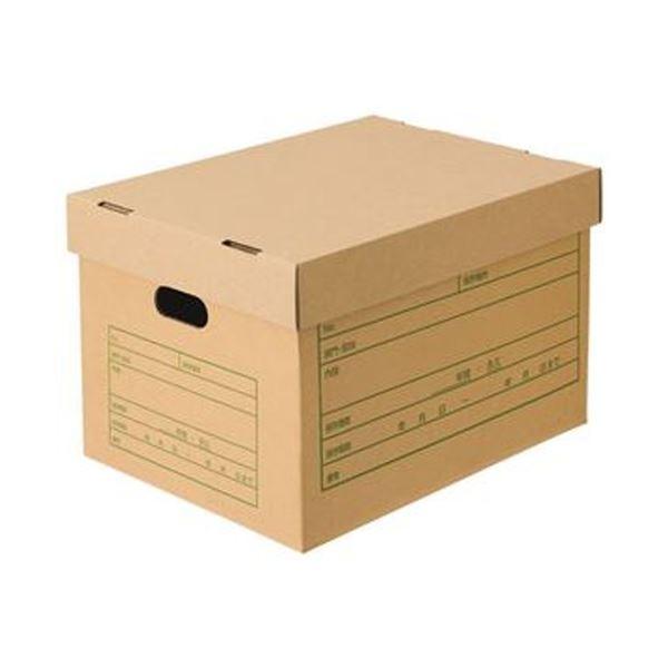 (まとめ)TANOSEE 文書保存箱(フタ式)A4用 1パック(6個)【×10セット】