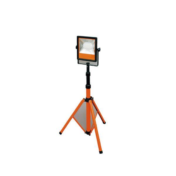 (まとめ)アイリスオーヤマ LEDスタンドライト 5000lm LWT-5000ST【×5セット】
