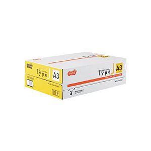 (まとめ)TANOSEE αエコペーパー タイプJA3 1箱(1500枚:500枚×3冊) 【×3セット】