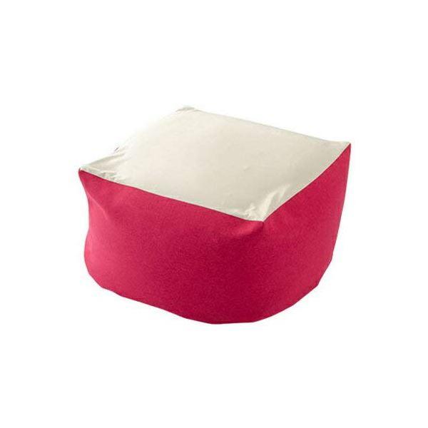 カバーリング ビーズクッション/ビッグクッション 【XLサイズ ピンク】 洗えるカバー 〔リビング雑貨 生活雑貨〕【代引不可】