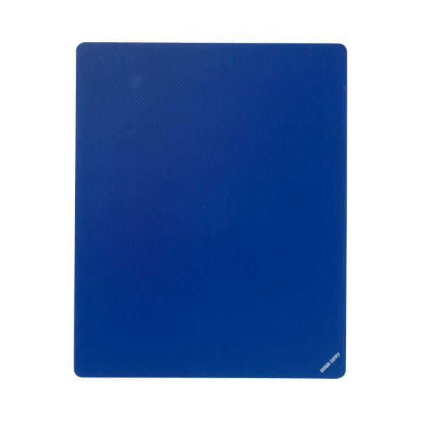 (まとめ) サンワサプライ マウスパッド Mサイズブルー MPD-EC25M-BL 1枚 【×10セット】