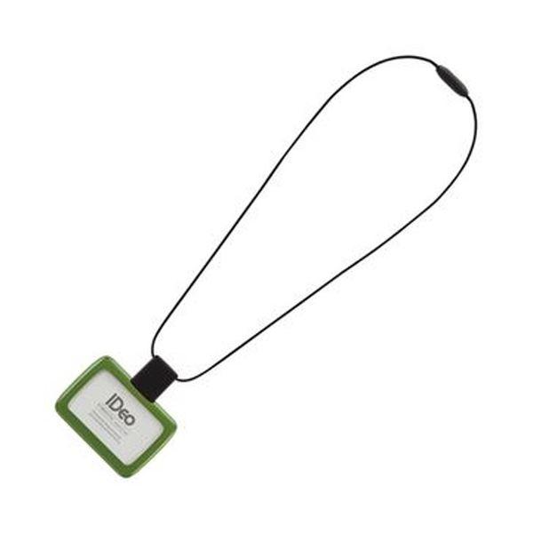 (まとめ)コクヨ IDカードホルダー(IDeoSMOOTHSTYLE)グリーン NM-R390G 1個【×10セット】