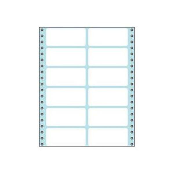(まとめ)コクヨ 連続伝票用紙(タックフォーム)横8×縦10インチ(203.2×254.0mm)12片 ECL-216 1パック(100シート)【×3セット】
