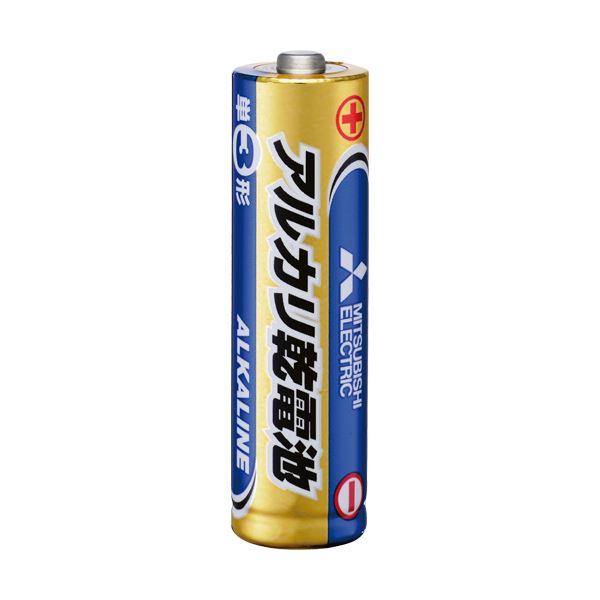(まとめ) 三菱電機 アルカリ乾電池 単3形LR6N/4S 1セット(40本:4本×10パック) 【×10セット】
