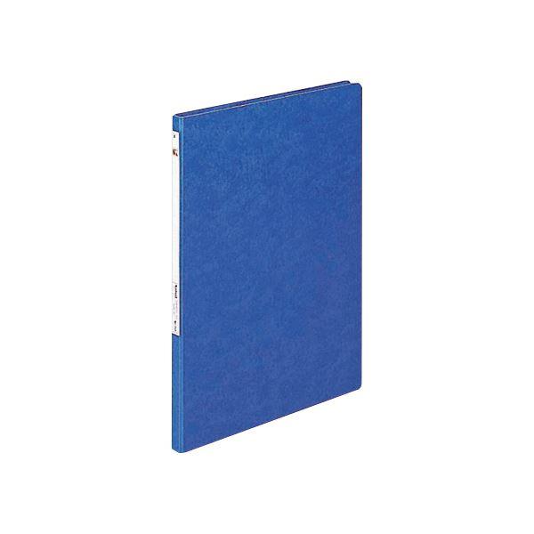 (まとめ) リヒトラブ パンチレスファイルZ式 A3タテ 120枚収容 背幅20mm 藍 F-312 1冊 【×10セット】