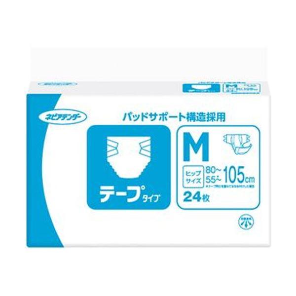 (まとめ)王子ネピア ネピアテンダー テープタイプM 1パック(24枚)【×5セット】