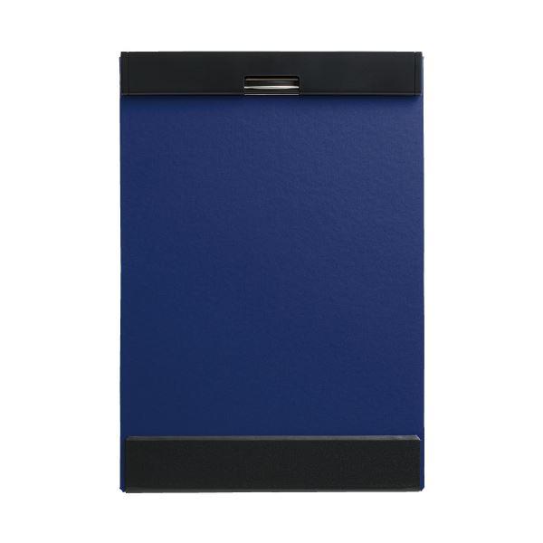 (まとめ)キングジム クリップボード マグフラップ 5085アオ(×20セット)