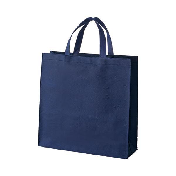 (まとめ) スマートバリュー 不織布手提げバッグ小10枚ブルー B450J-BL【×10セット】