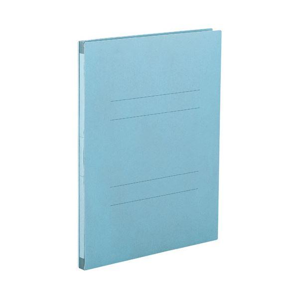(まとめ) セキセイ のびーるファイル(エスヤード) A4タテ 1000枚収容 背幅17~117mm ブルー AE-50F 1セット(10冊) 【×5セット】