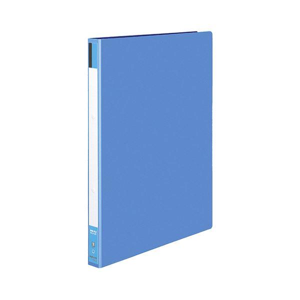 (まとめ)コクヨ リングファイル 色厚板紙表紙B4タテ 2穴 170枚収容 背幅30mm 青 フ-424B 1セット(10冊)【×3セット】