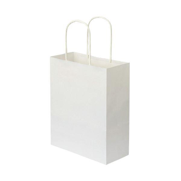 (まとめ)手提袋 丸紐 白無地・小小 50枚入×6【×3セット】