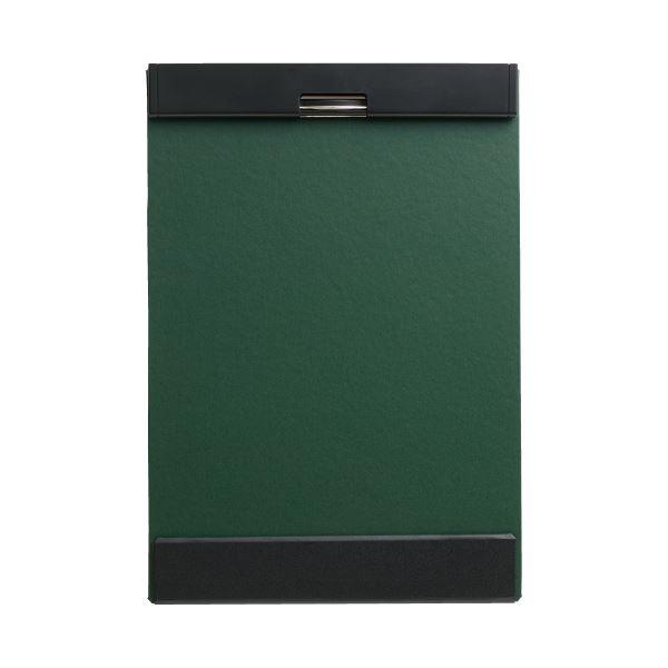 (まとめ)キングジム クリップボード マグフラップ 5085緑(×20セット)