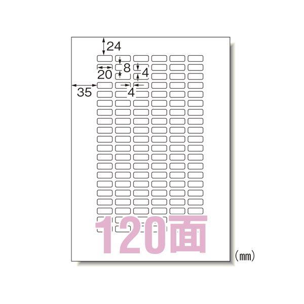 (まとめ) エーワン マルチプリンタラベル 再剥離 A4 120面 10入【×20セット】