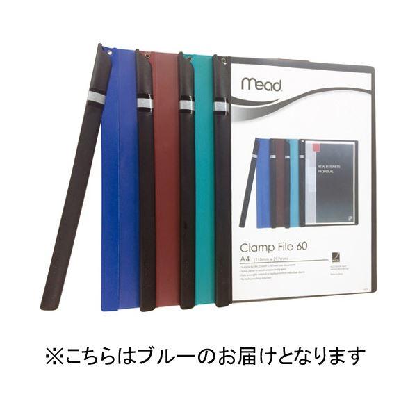 (まとめ)アコ・ブランズ Mead クランプファイル M2003001 ブルー【×100セット】