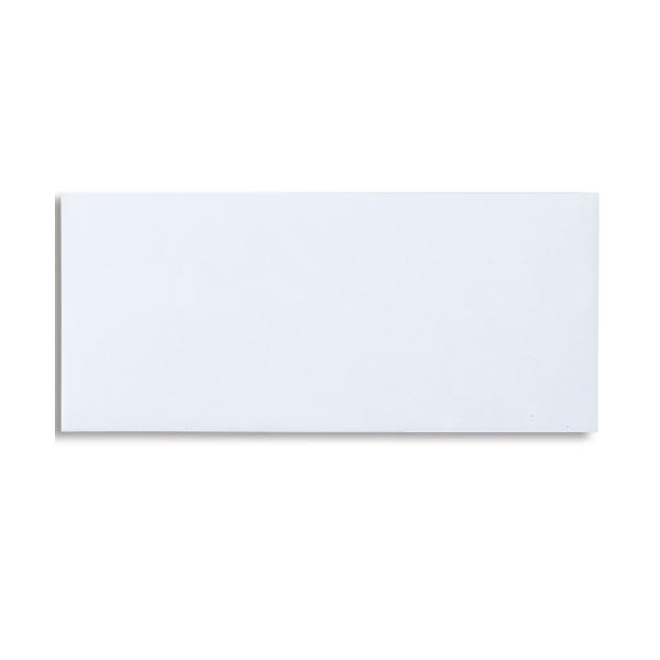 (まとめ) ピース R40再生ケント封筒(口のり付) 洋4 100g/m2 〒枠なし ホワイト 834 1パック(100枚) 【×10セット】