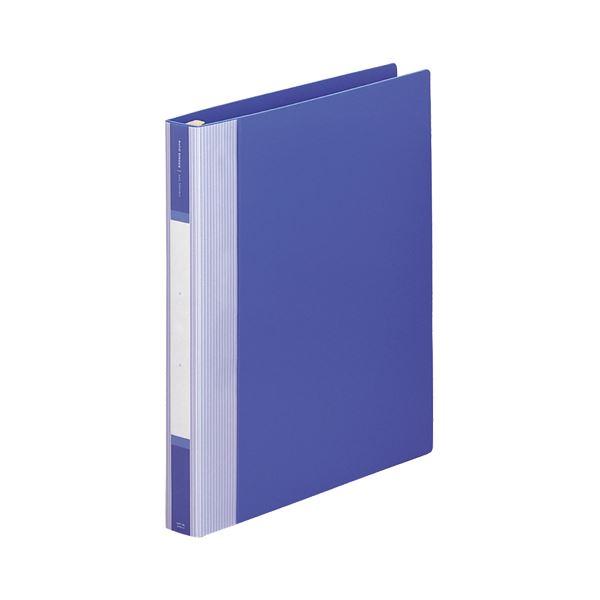 (まとめ) リヒトラブ リクエスト リフィルバインダーMTL A4タテ 30穴 80枚収容 背幅35mm 青 G3902-8 1冊 【×10セット】