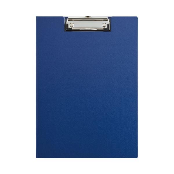 (まとめ)キングジム クリップボード(カバー付) 8315 青【×50セット】