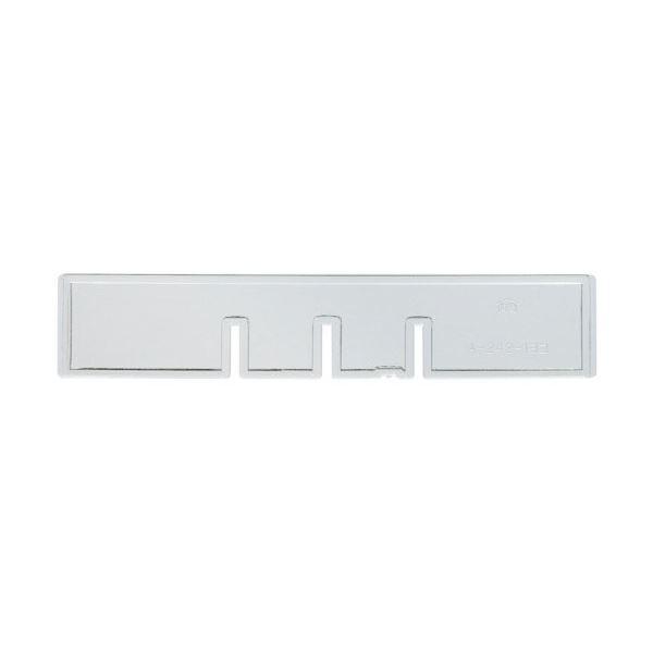 (まとめ) サカセ化学工業 ビジネスカセッターヨコ仕切板 A4-242用 1枚 【×100セット】