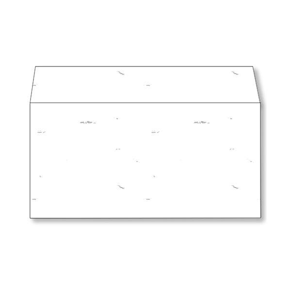 (まとめ) 長門屋商店 和み紙封筒 DL(洋形)105g/m2 しろ 徳用 ナフ-351 1パック(50枚) 【×5セット】