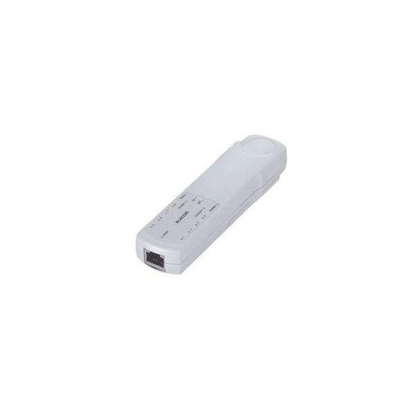 (まとめ)エレコム リモート対応ケーブルテスタ LANケーブル用 LD-RCTEST3 1個【×3セット】