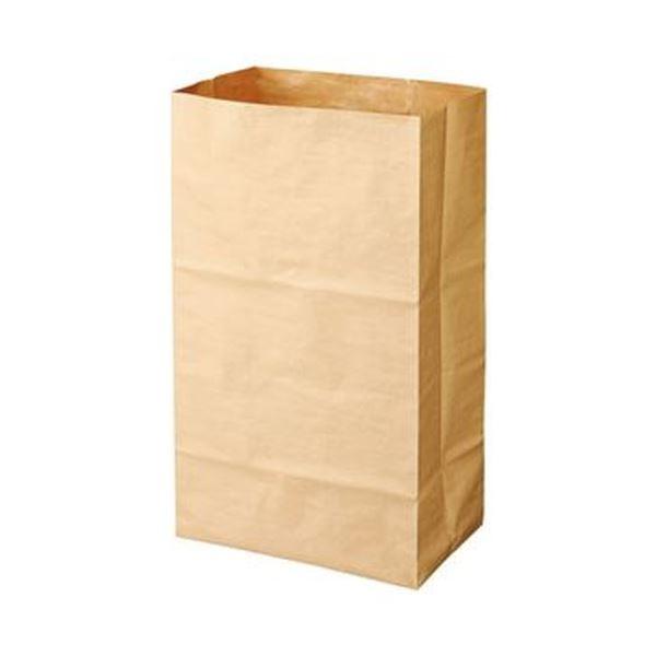 (まとめ)クラフトマン特大紙製ゴミ袋(ヒモ付き片貼り)クラフト HKT-058 1パック(3枚)【×20セット】