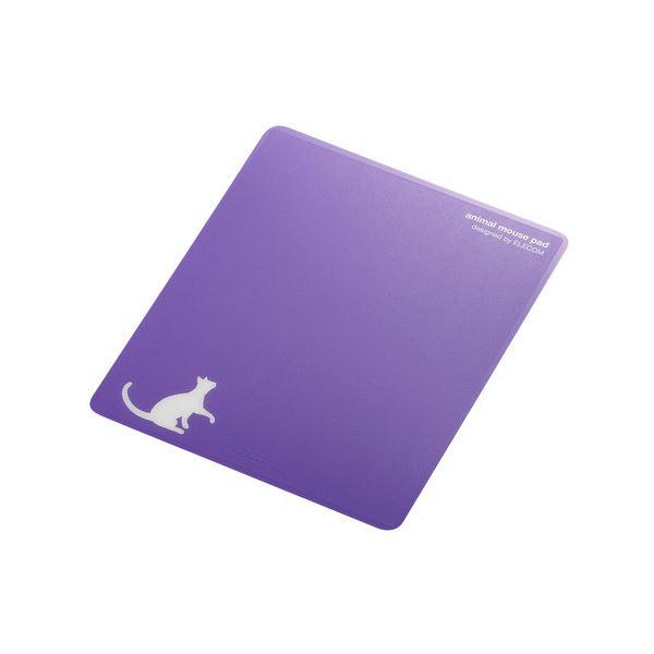 (まとめ) エレコムレーザー&光学式マウス対応マウスパッド animal mousepad ネコ MP-111E 1枚 【×10セット】