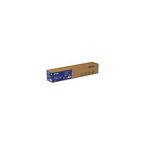 (まとめ)エプソン EPSON MC厚手マット紙ロール 24インチロール 610mm×25m MCSP24R4 1本【×3セット】
