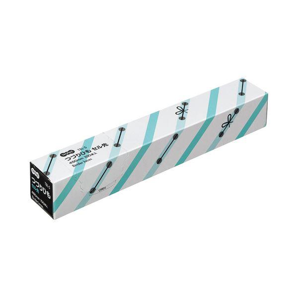 (まとめ) TANOSEE つづりひも 450mm セル先 PP糸32本織 1パック(100本) 【×30セット】