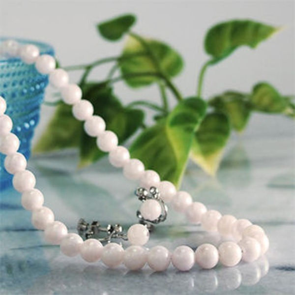 NEW ARRIVAL 業界No.1 ホワイト系 特選あこや本真珠 ネックレス 6.5-7.0mm イヤリング2点セット 品質保証書付