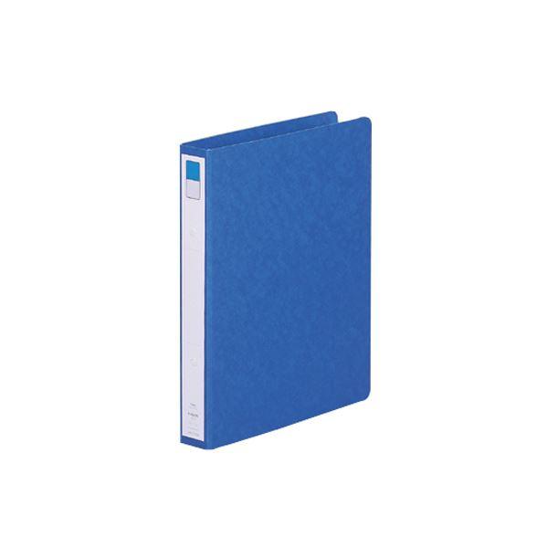(まとめ) リヒトラブ リングファイル(ツイストリング) B5タテ 2穴 200枚収容 背幅35mm 藍 F-802UN-5 1冊 【×30セット】