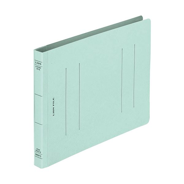 (まとめ) ライオン事務器 フラットファイルA5ヨコ 150枚収容 背幅18mm ブルー CS-A538E-3P 1パック(3冊) 【×50セット】