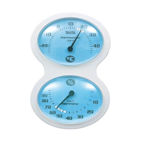上品 ユニークなデザインに見やすい目盛り まとめ タニタ 温湿度計 キャンペーンもお見逃しなく 1個 ×5セット ブルーTT-509-BL