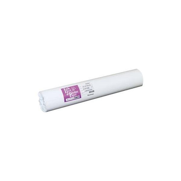 (まとめ)桜井 インクジェット用普通紙24インチロール 610mm×50m SIJFT610 1箱(2本)【×3セット】