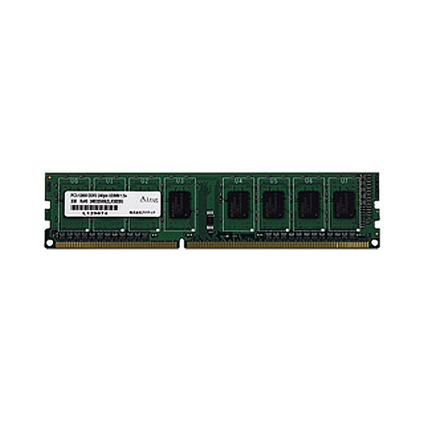 (まとめ)アドテック DDR3 1066MHzPC3-8500 240pin Unbuffered DIMM 2GB ADS8500D-2G 1枚【×3セット】