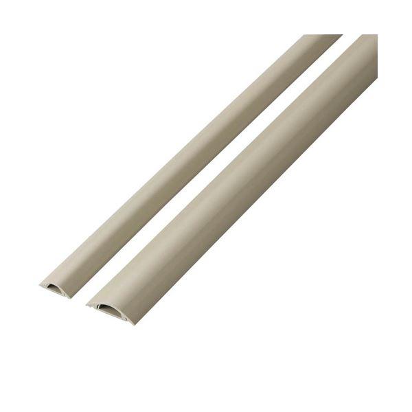 (まとめ) エレコム 床用エコモール幅45mm×長さ1m ベージュ LD-GAE1307 1本 【×10セット】
